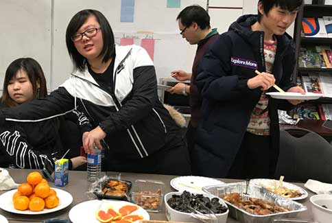 potluck Chinese New Year