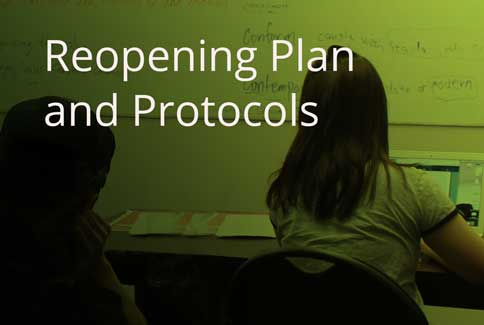 reopening plan and protocols