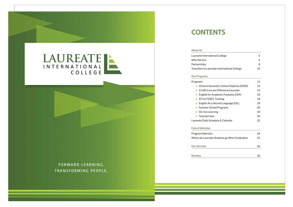 Preview of Laureate English Viewbook