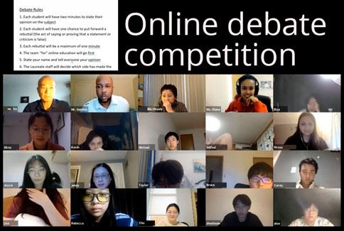 Laureate online debate competition