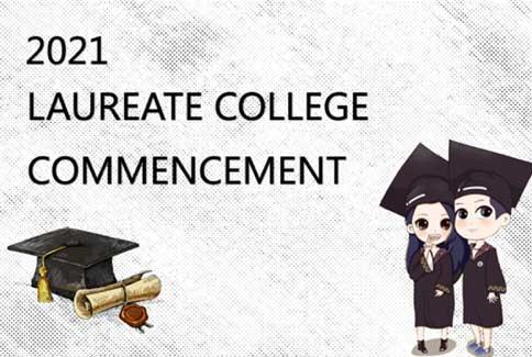 2021 Laureate College commencement